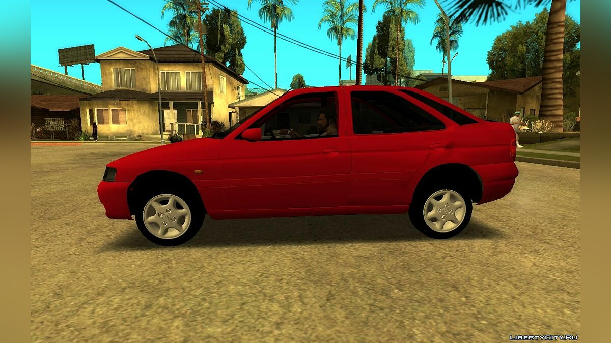 Машина Ford Ford Escort Zetec 1998 4 doors (fixed file) для GTA San Andreas