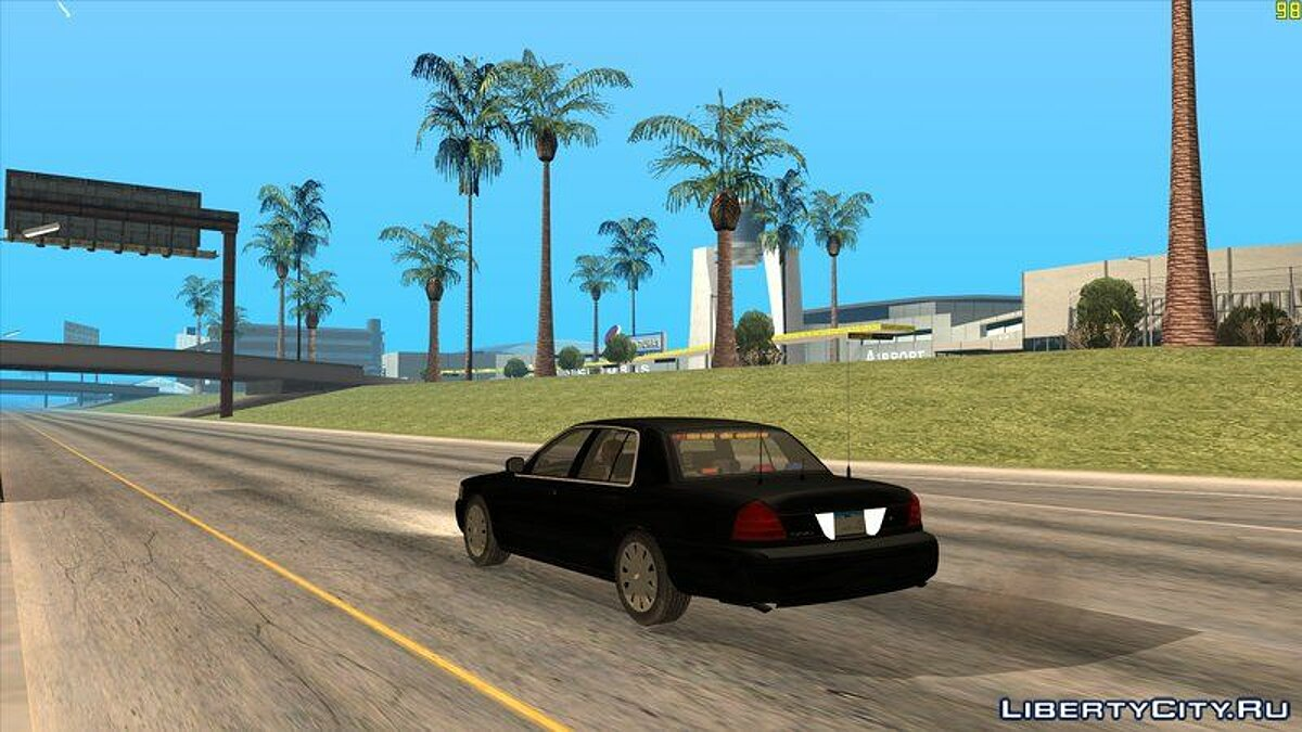 Машина Ford 2010 Ford Crown Victoria OHSP Unmarked для GTA San Andreas