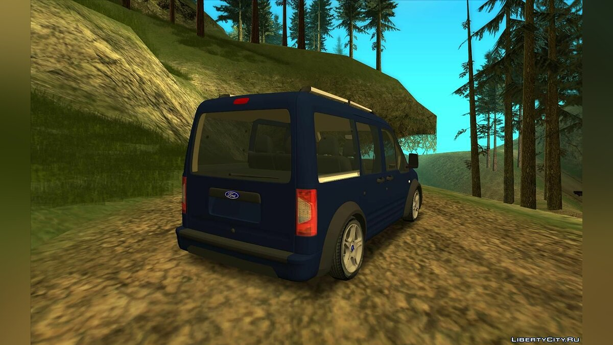 Машина Ford Ford Tourneo Connect 2012 для GTA San Andreas