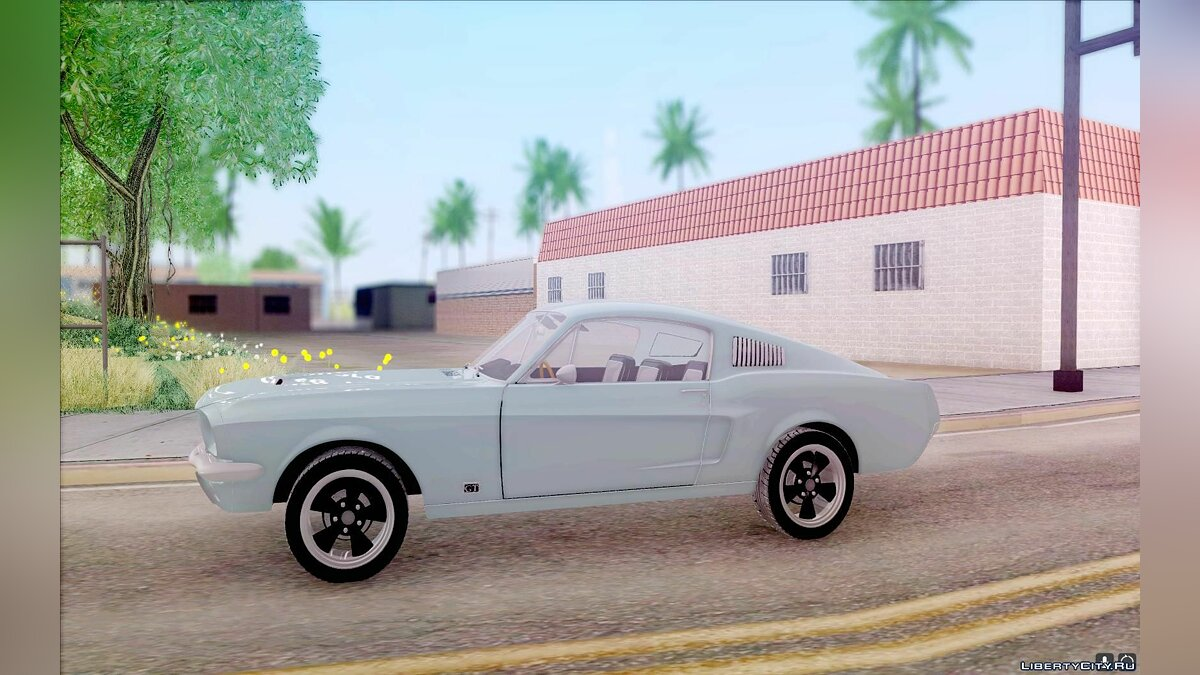 ��ашина Ford Shelby Mustang GT 1967 для GTA San Andreas