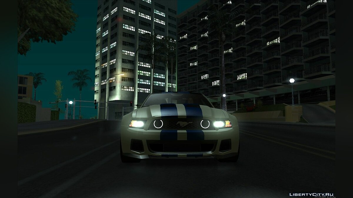 2013 Ford Mustang - Need For Speed Movie Edition для GTA San Andreas