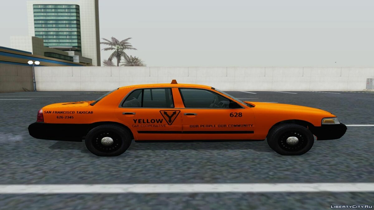Ford Crown Victoria San Francisco Cab для GTA San Andreas - скриншот #2