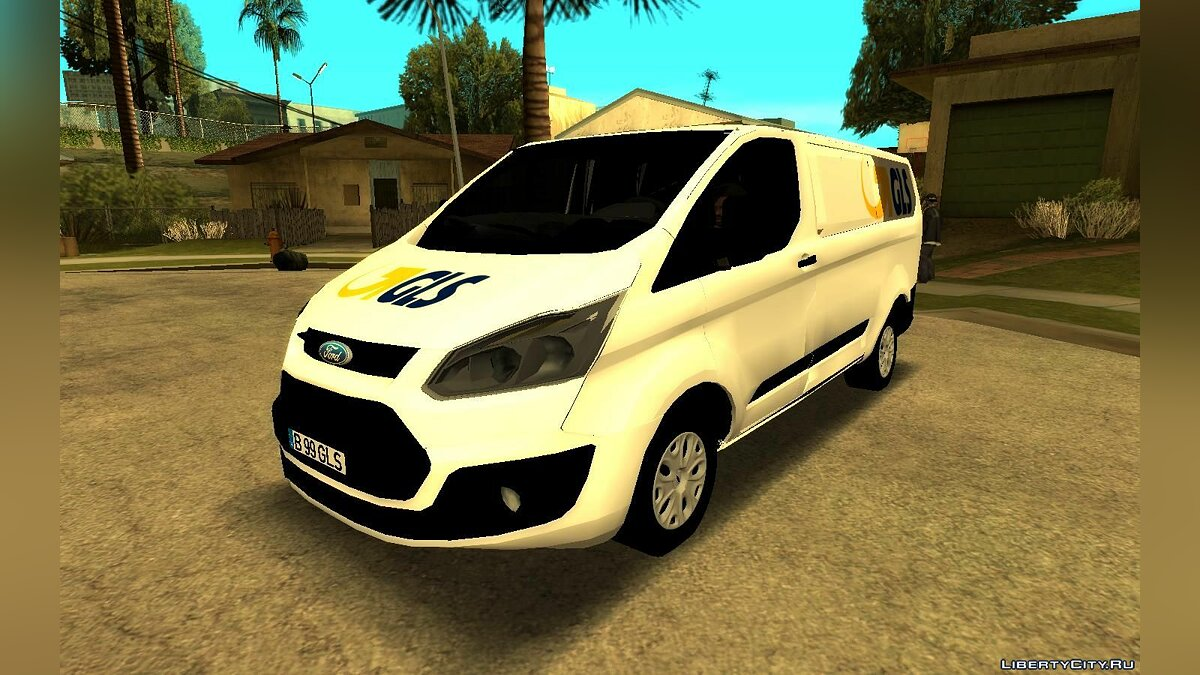 Машина Ford 2016 Ford Transit Lite - GLS Courier для GTA San Andreas