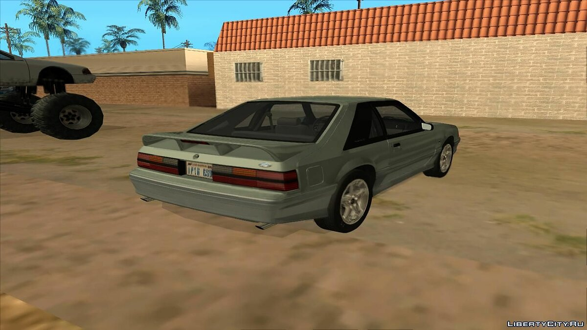 ��ашина Ford 1991 Ford Mustang Hatchback для GTA San Andreas