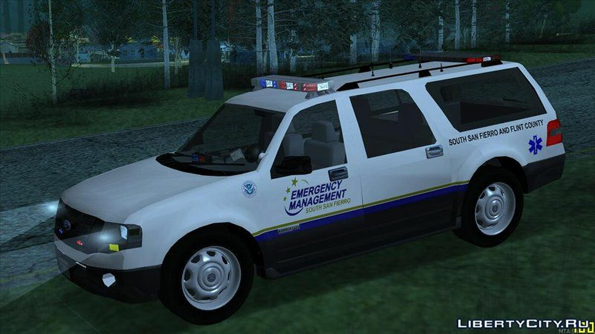 2013 Ford Expedition Flint County Emergency Management для GTA San Andreas