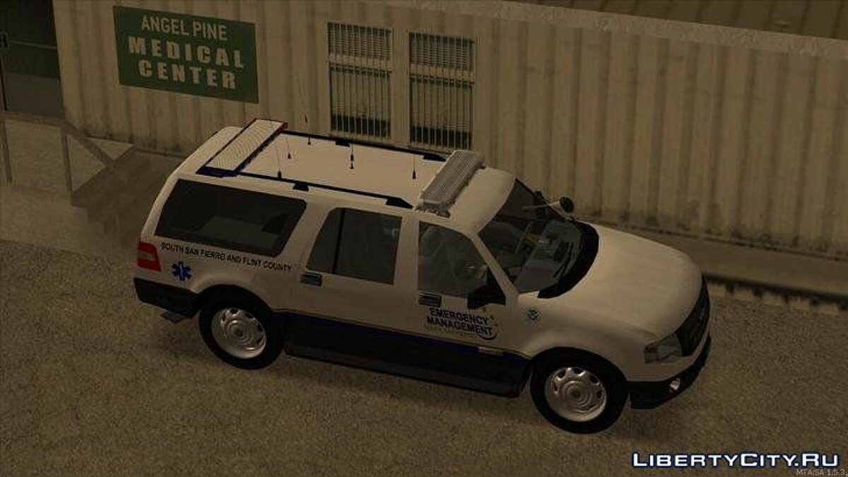 2013 Ford Expedition Flint County Emergency Management для GTA San Andreas - скриншот #3