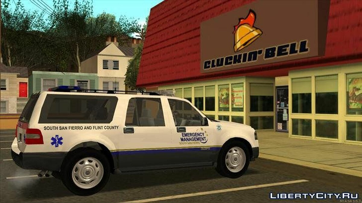 2013 Ford Expedition Flint County Emergency Management для GTA San Andreas - скриншот #5