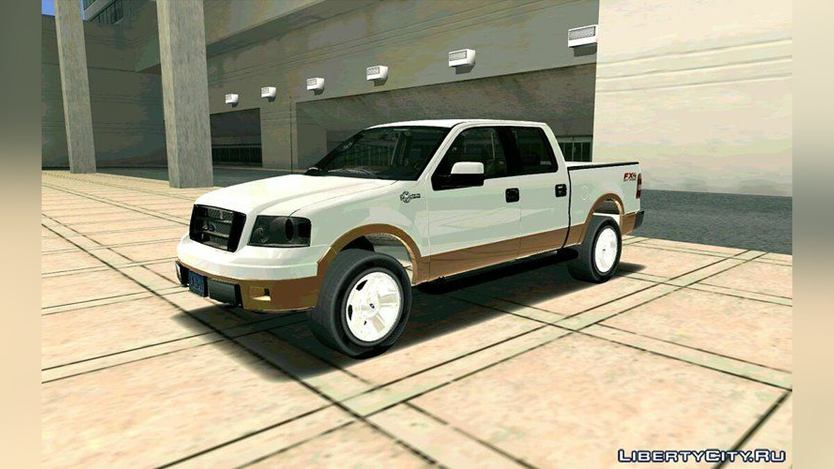 Ford F150 King Ranch 2005 для GTA San Andreas