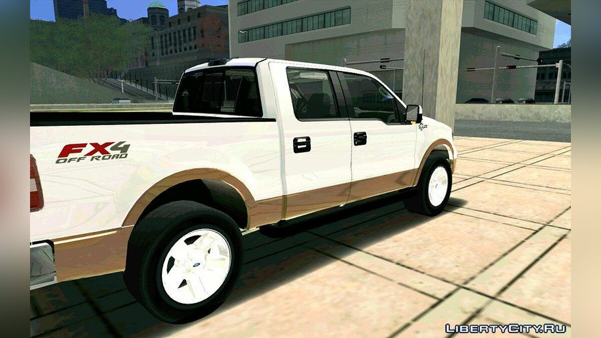 Ford F150 King Ranch 2005 для GTA San Andreas - скриншот #6