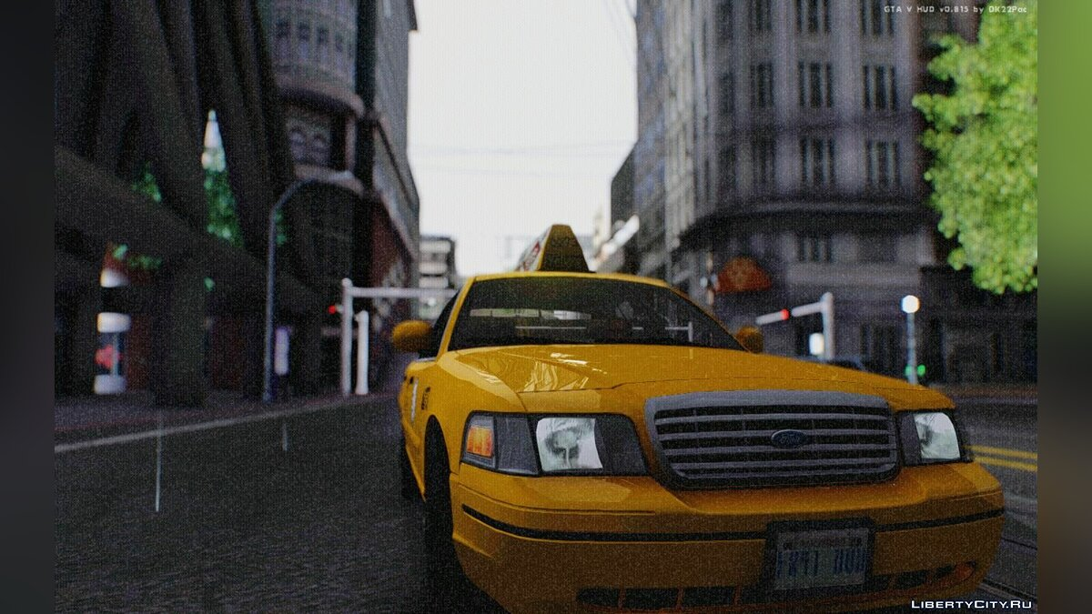Ford Crown Victoria LA Taxi для GTA San Andreas