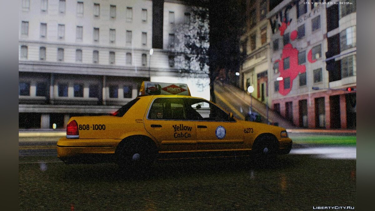 Ford Crown Victoria LA Taxi для GTA San Andreas - скриншот #2