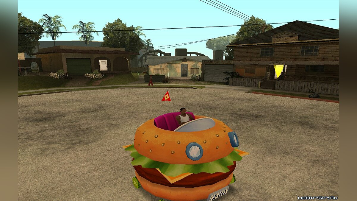Patty Wagon from Nick Racers Revolution для GTA San Andreas