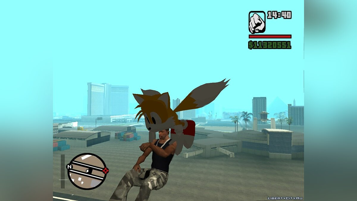 "Tails ""Miles"" the Fox Beta v. 1.0 для GTA San Andreas"