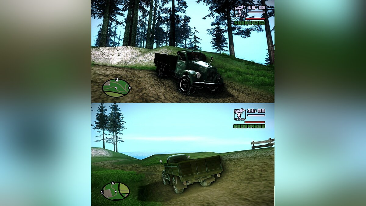 "ГАЗ-63/GAZ-63 Version: ""OffRoad Wheels 4x4"" для GTA San Andreas"