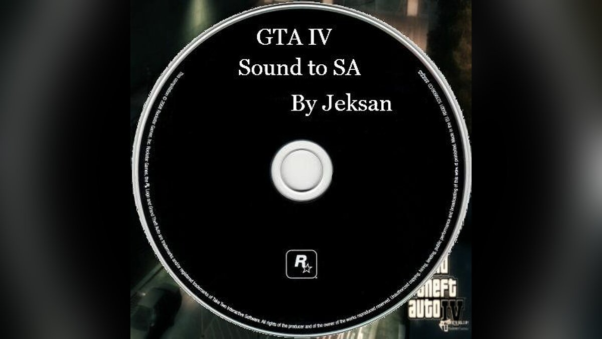 GTA IV Sound to SA global mod для GTA San Andreas