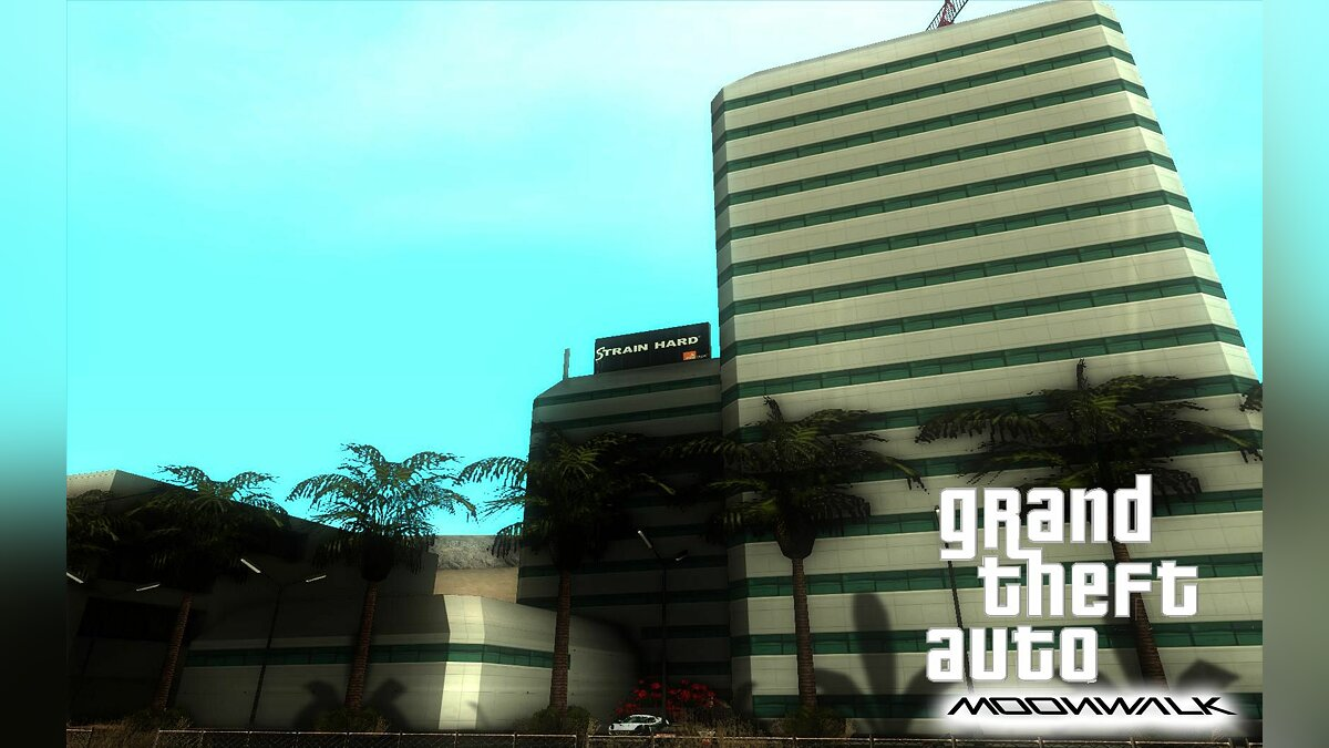 Grand Theft Auto: Moonwalk Beta 1.0 для GTA San Andreas