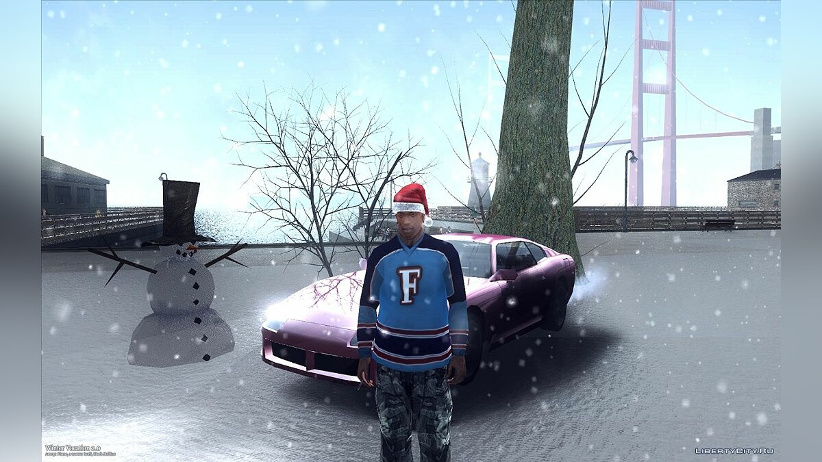 Winter Vacation 2.0 для GTA San Andreas