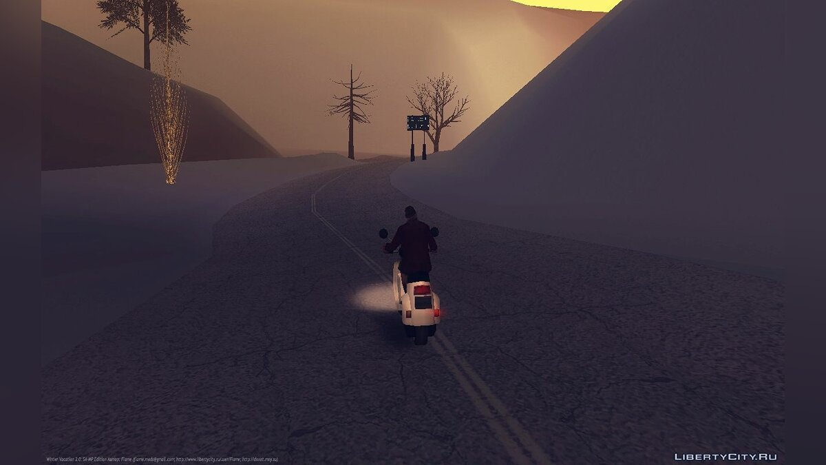Winter Vacation 2.0: SA-MP Edition для GTA San Andreas