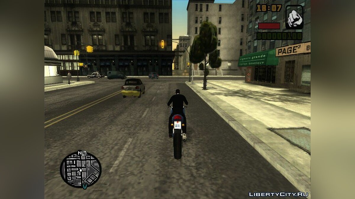 Liberty City Stories PC Edition BETA 3.1.9 для GTA San Andreas - скриншот #3
