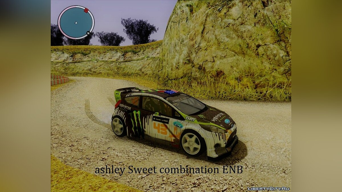 Ashley Sweet combination ENB для GTA San Andreas