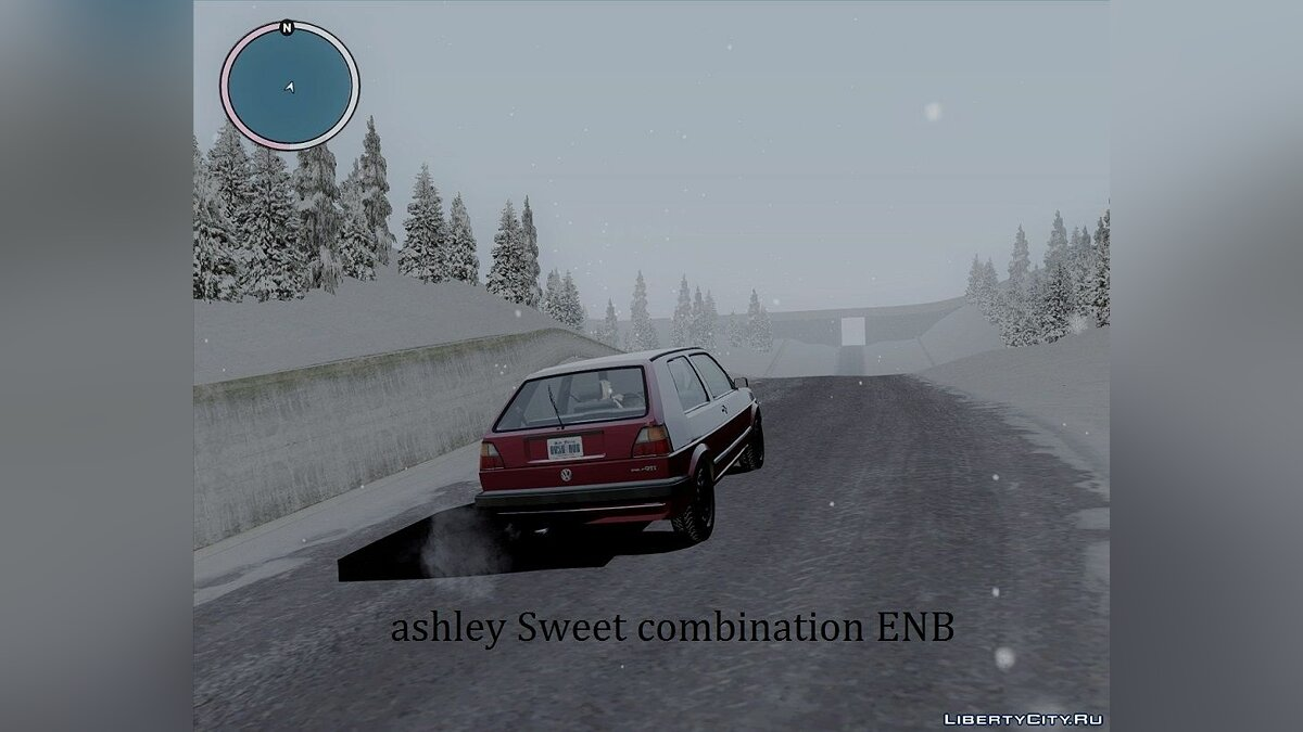 Ashley Sweet combination ENB для GTA San Andreas - скриншот #6