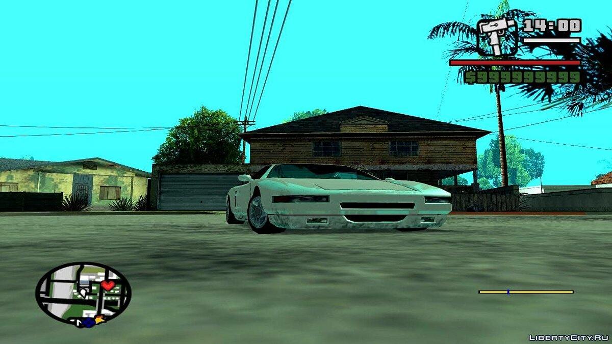 Большой мод PS2 Graphics to PC для GTA San Andreas