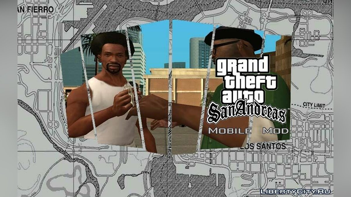 Mobile Version Mod v3.0 для GTA San Andreas