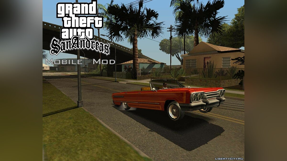 Mobile Version Mod v3.0 для GTA San Andreas - скриншот #5