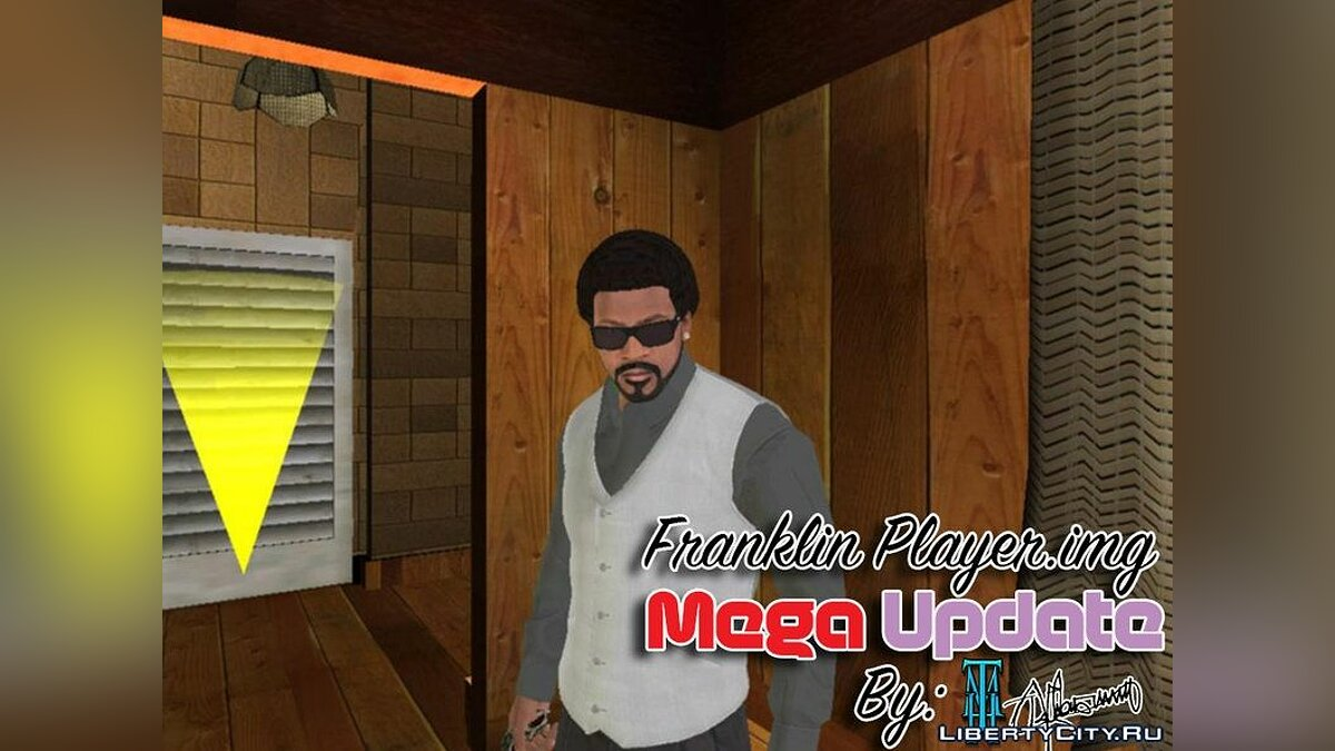 Franklin Player.img Mega Update 2016 для GTA San Andreas