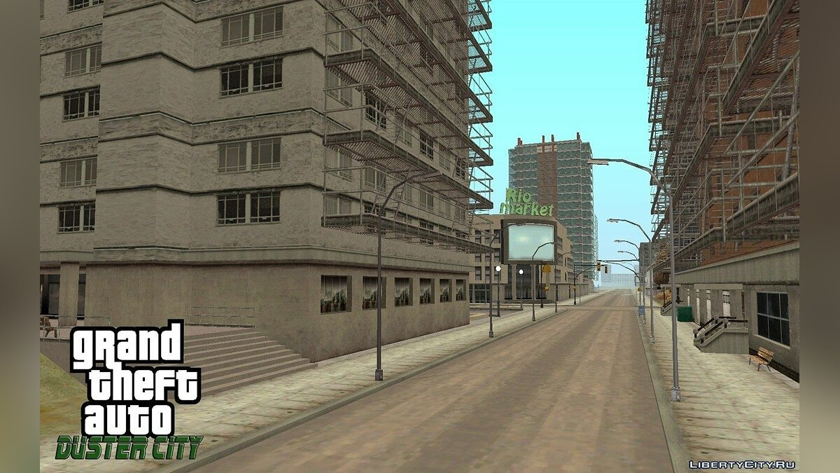 GTA Duster city ALPHA 4 для GTA San Andreas