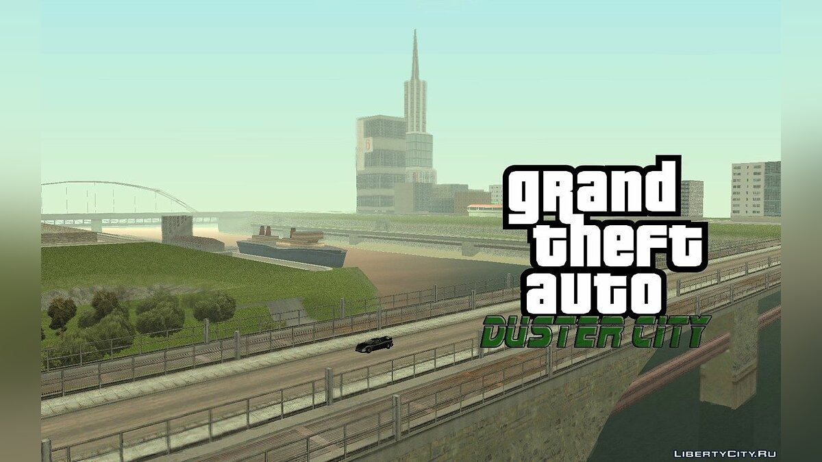 GTA Duster city ALPHA 4 для GTA San Andreas - скриншот #7