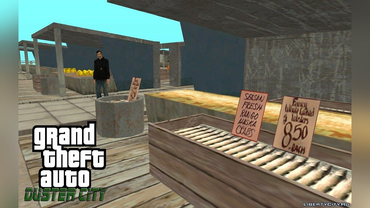 GTA Duster city ALPHA 4 для GTA San Andreas - скриншот #8