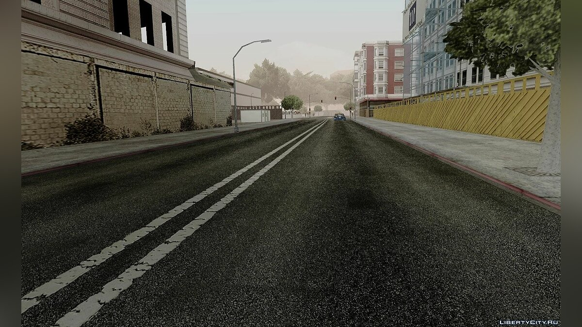 HQ Roads by Marty McFly для GTA San Andreas