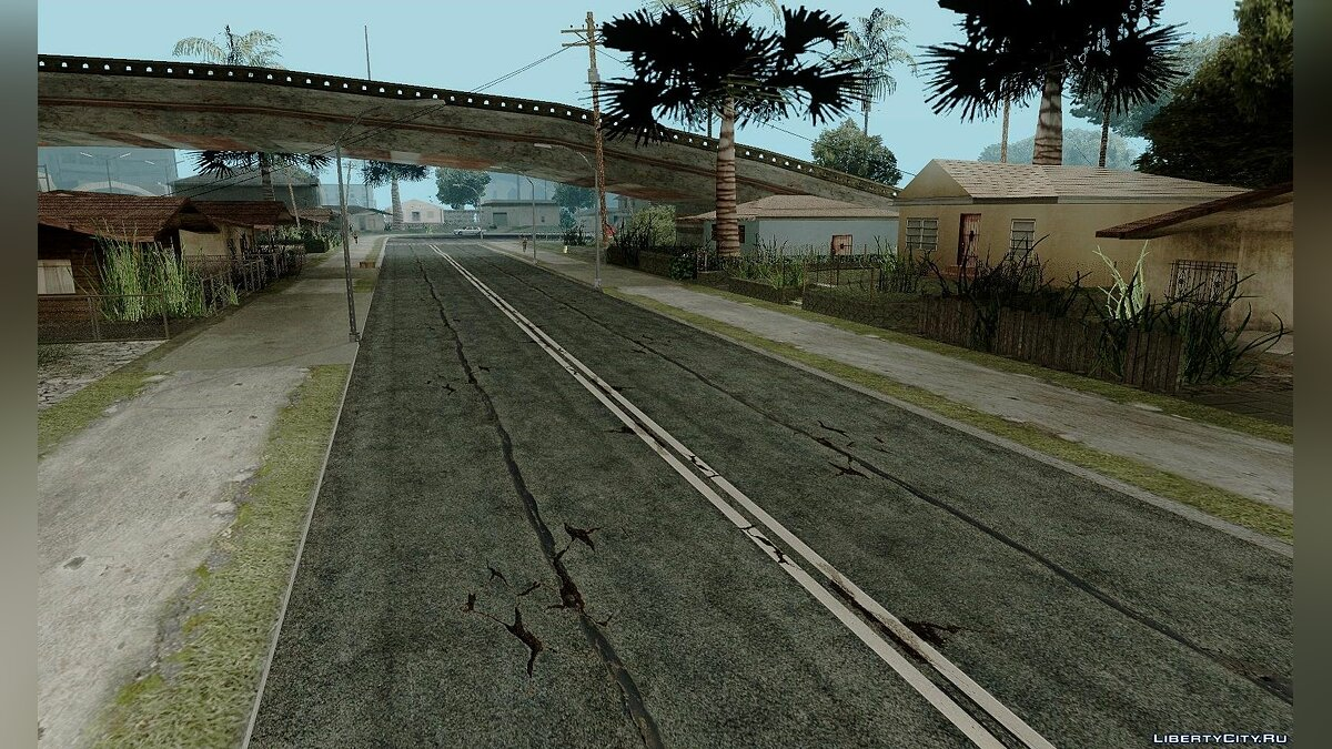 HQ Roads by Marty McFly для GTA San Andreas - скриншот #3
