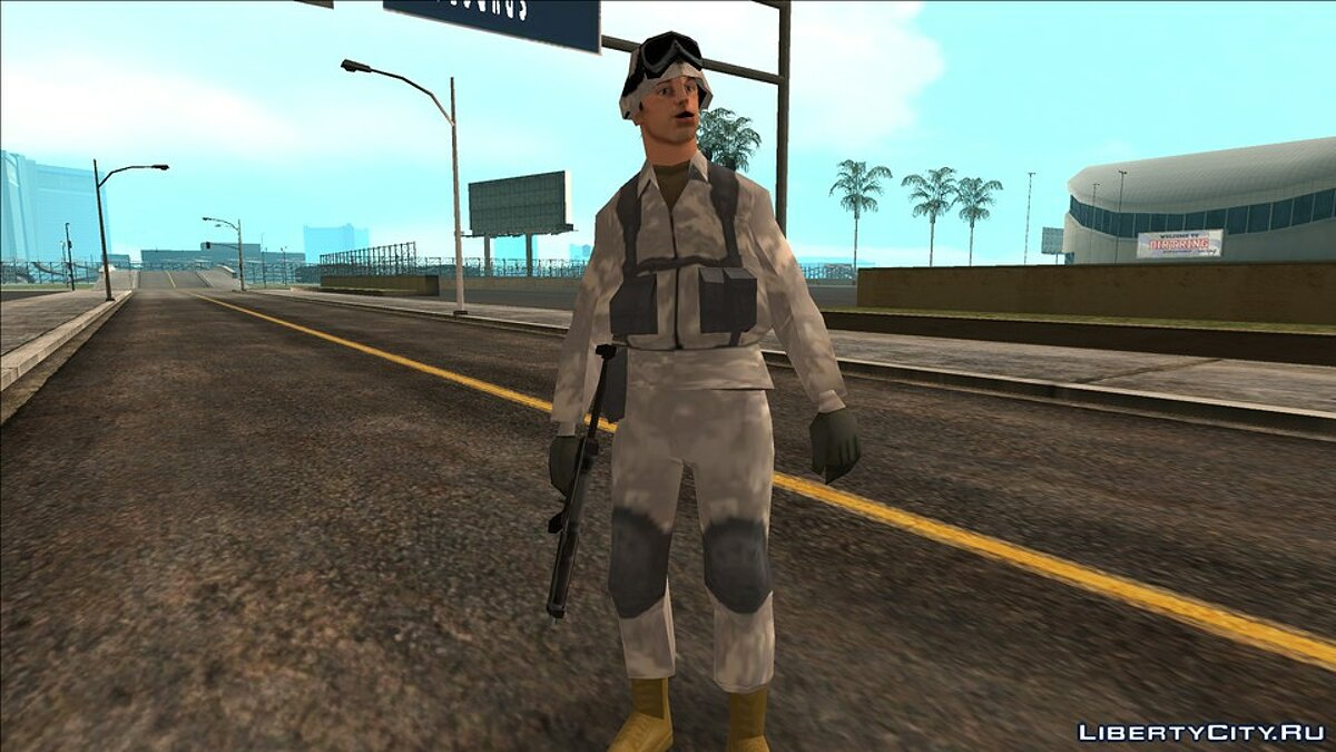 Большой мод Infested City Remake для GTA San Andreas