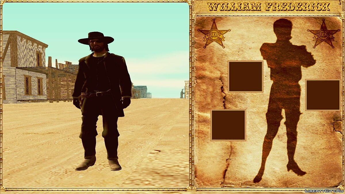 GTA Red Dead Revolver Wild West Beta 1 для GTA San Andreas - скриншот #6