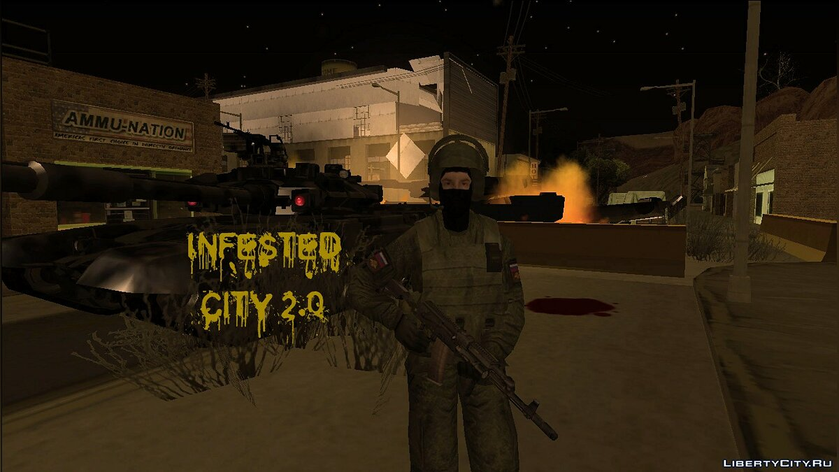 Infested City 2.0 для GTA San Andreas - Картинка #1