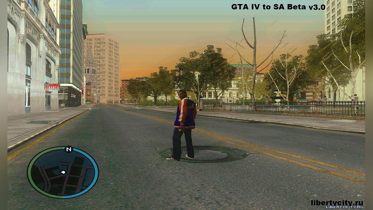 GTA IV to SA Beta v3.0 для GTA San Andreas