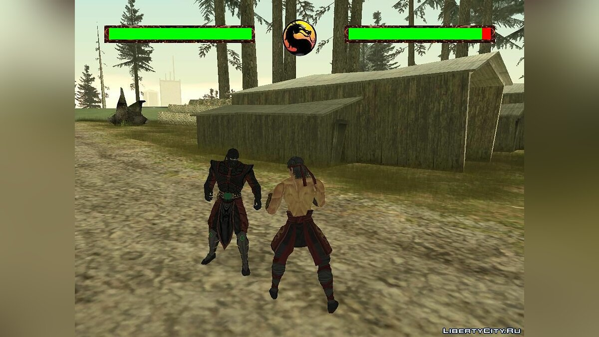 Большой мод Mortal Kombat Conquest for GTA SA V3.1 для GTA San Andreas