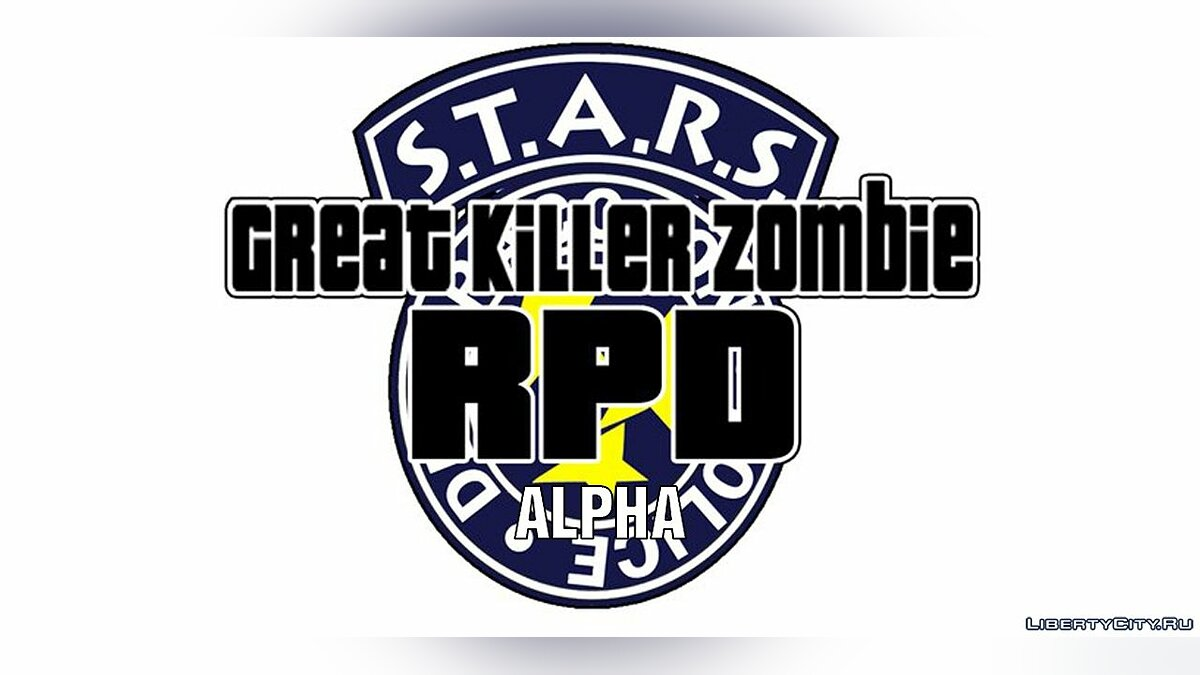 Great Killer Zombie: RPD (test Alpfa) для GTA San Andreas