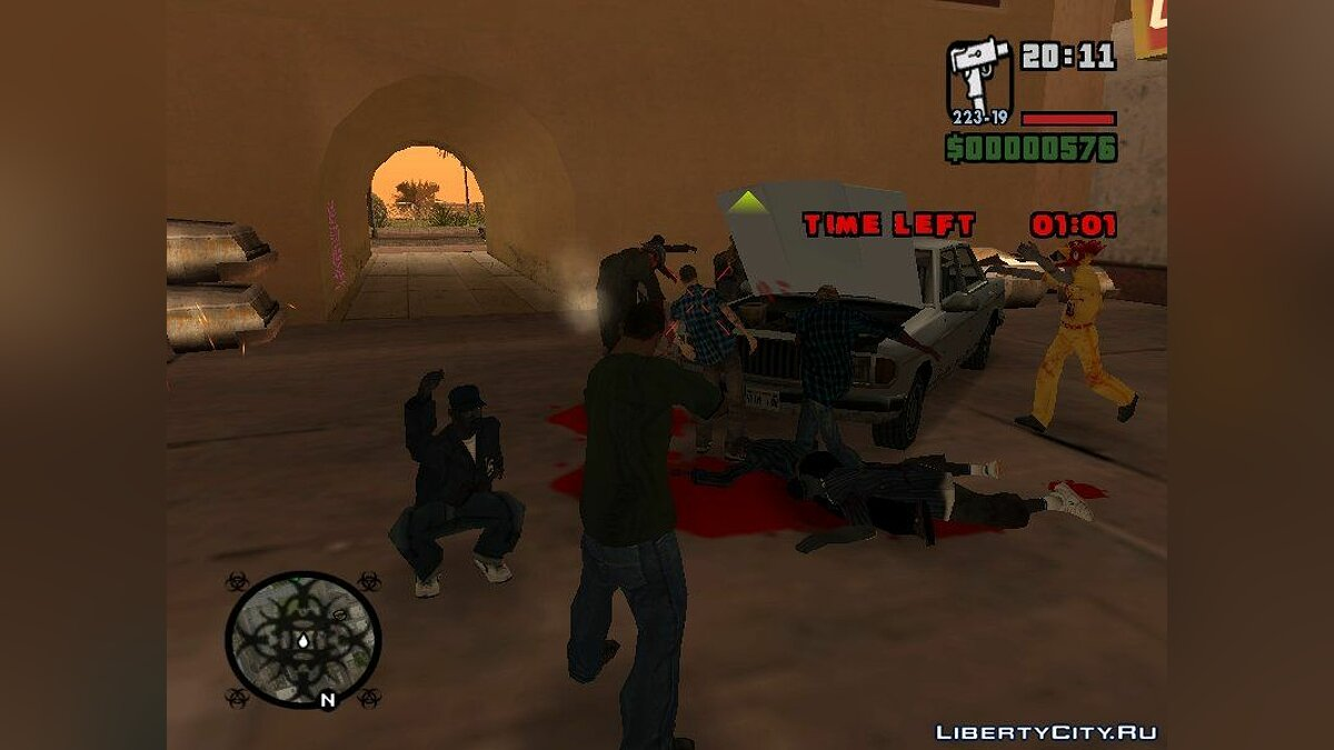 Left 4 Theft: San Andreas Version 3.1 для GTA San Andreas