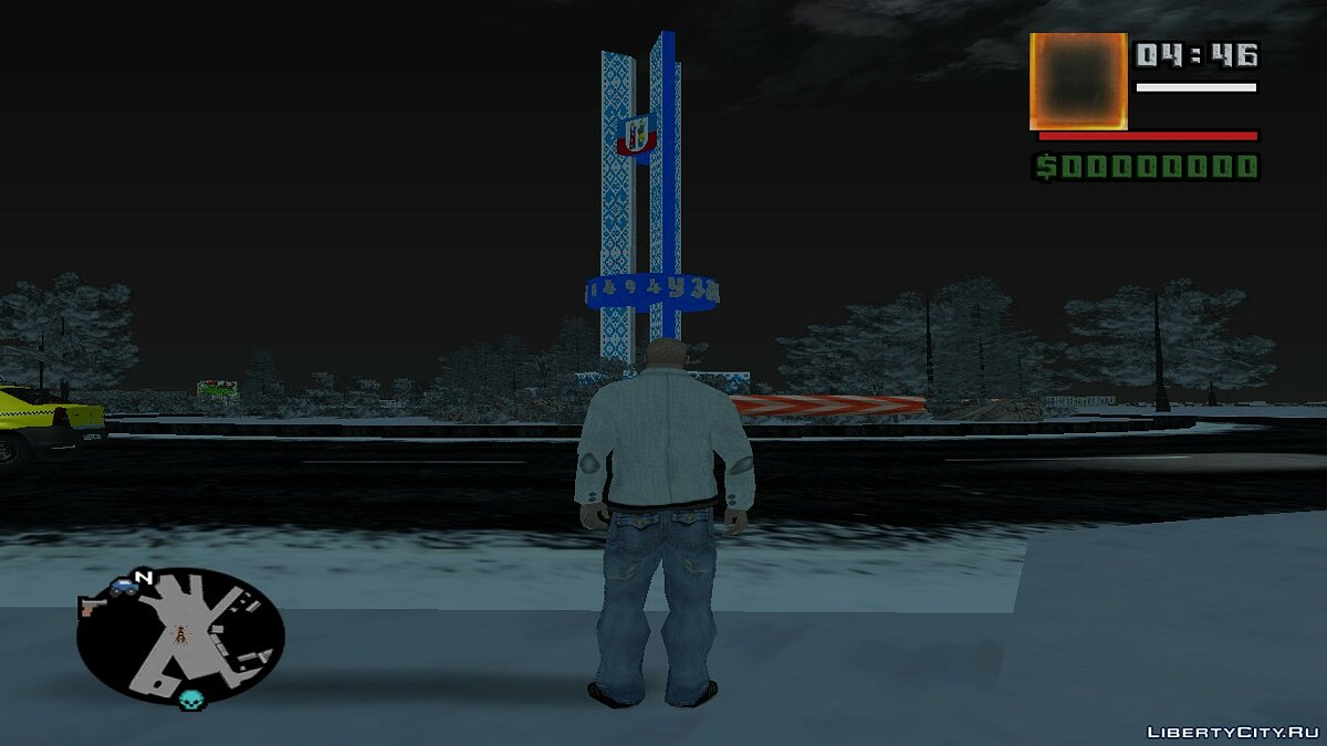 Большой мод GTA Uzda Winter History 4.0 для GTA San Andreas