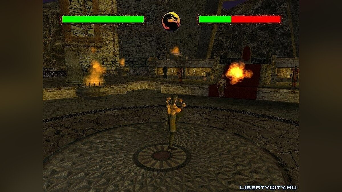 Mortal Kombat Conquest for GTA SA для GTA San Andreas