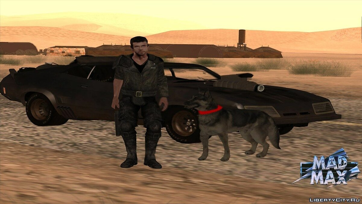 GTA Mad Max The Road Warrior (build 0.38) для GTA San Andreas