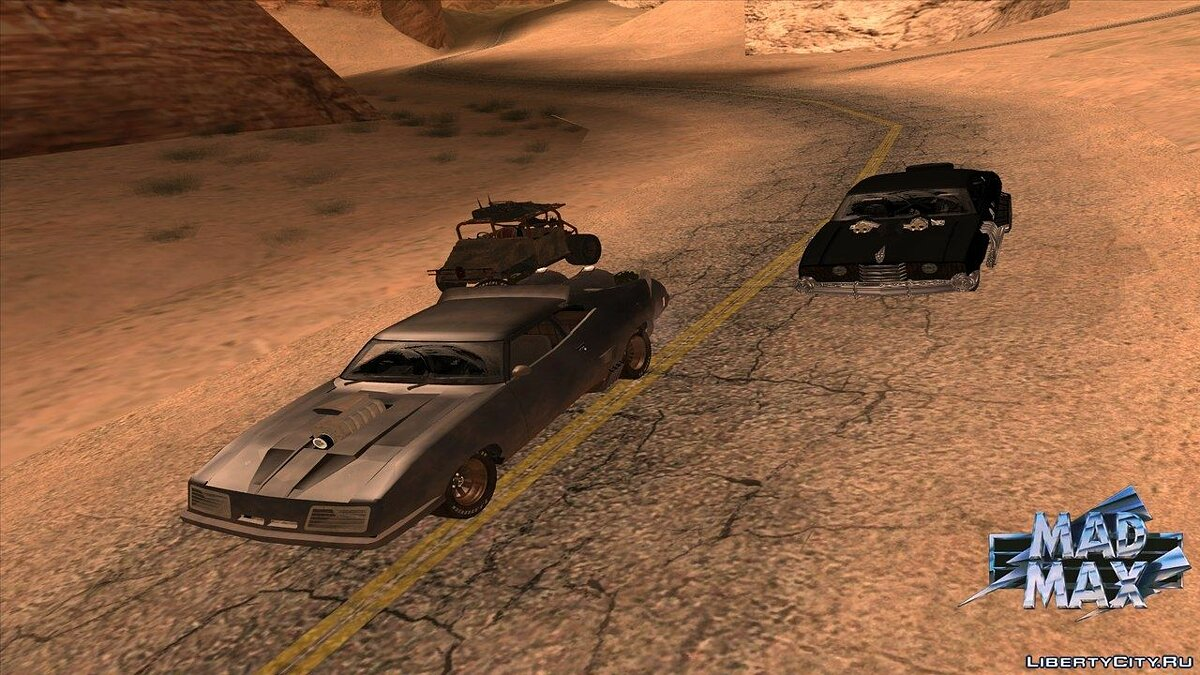 GTA Mad Max The Road Warrior (build 0.38) для GTA San Andreas - скриншот #8