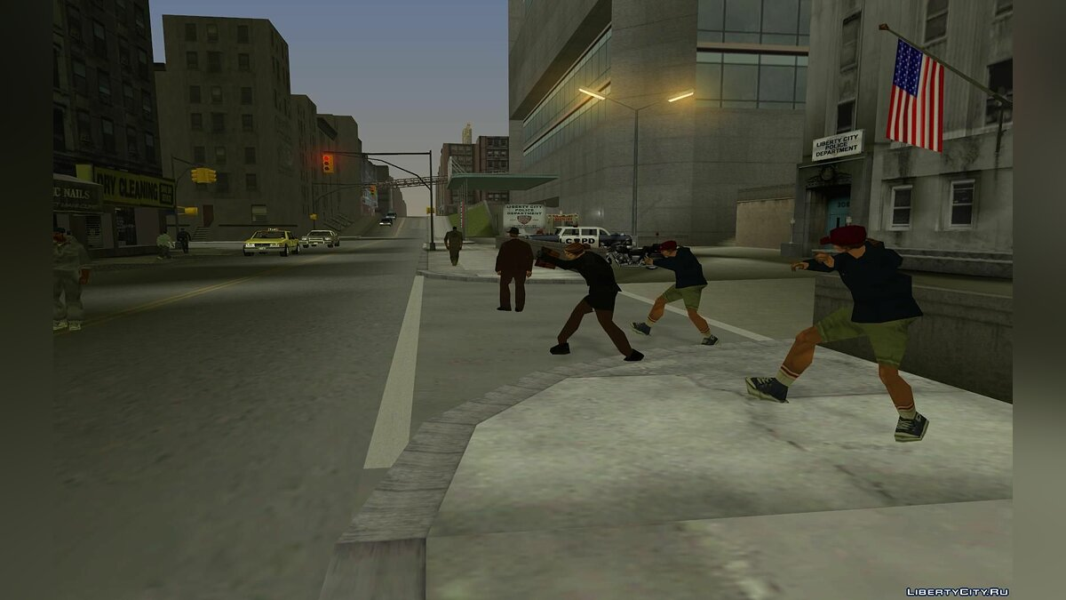 Большой мод GTA SA Liberty City beta 10 Update для GTA San Andreas