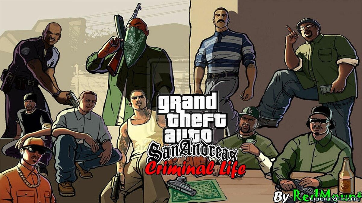 GTA Criminal Life BETA v0.1 для GTA San Andreas