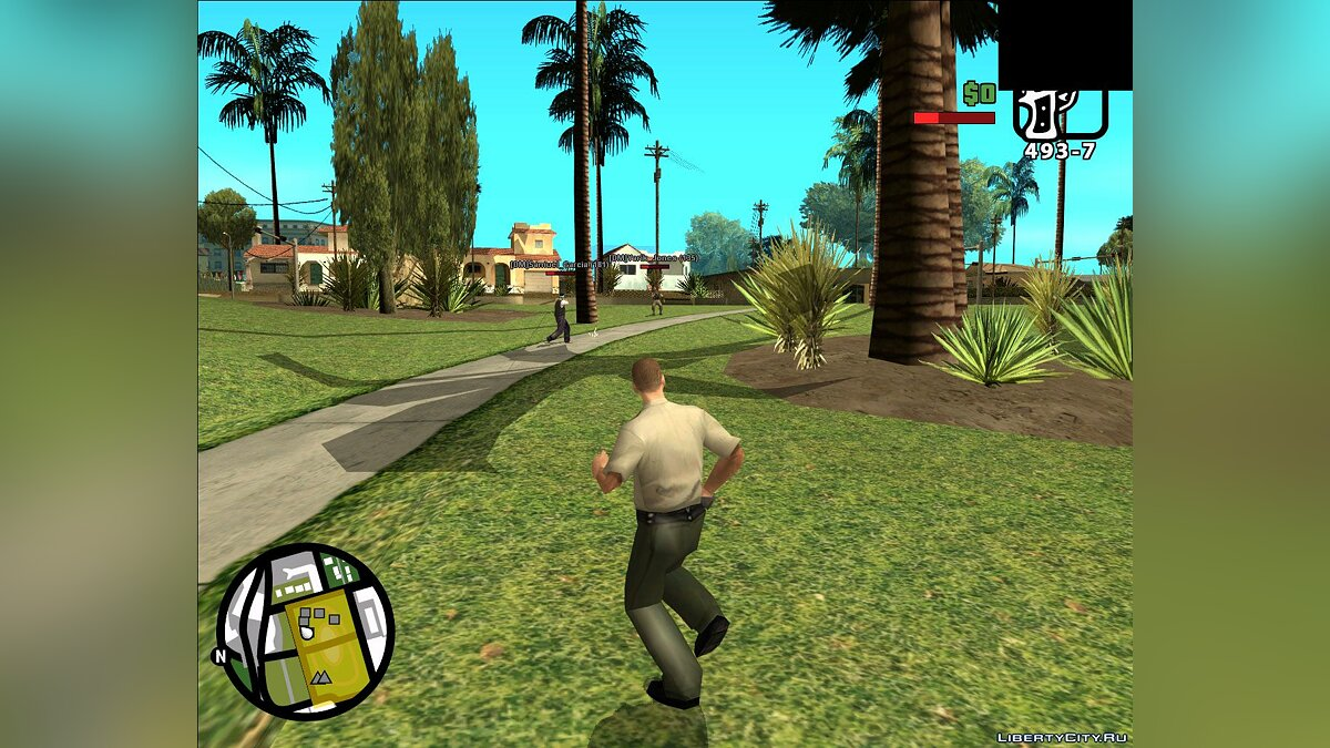 Большой мод GTA SA Mobile Mod Multiplayer Edition для GTA San Andreas