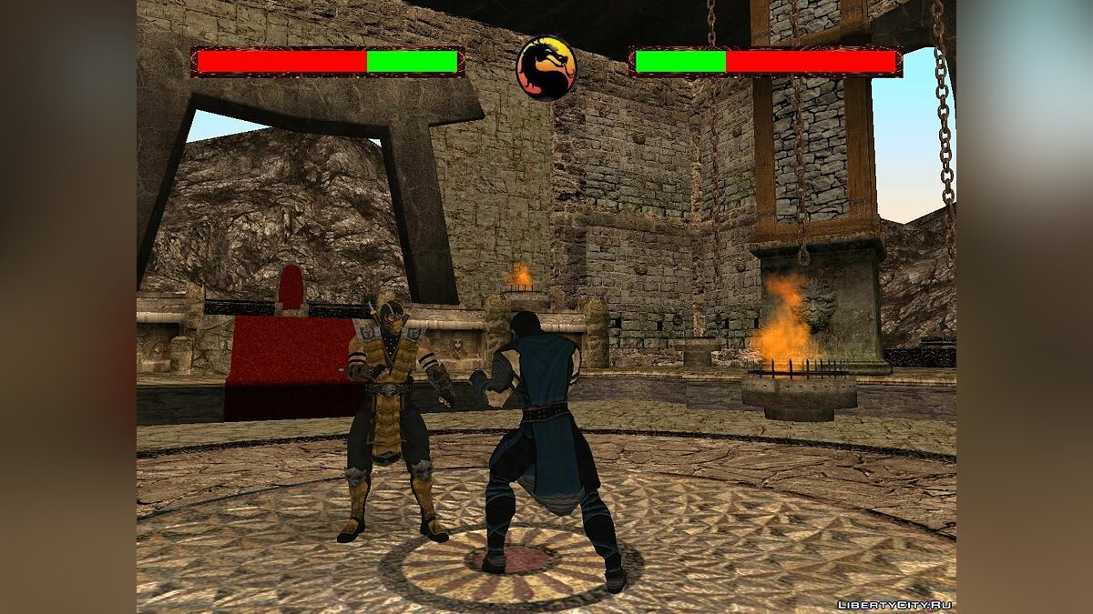 Большой мод Mortal Kombat Conquest for GTA SA V2.0 для GTA San Andreas