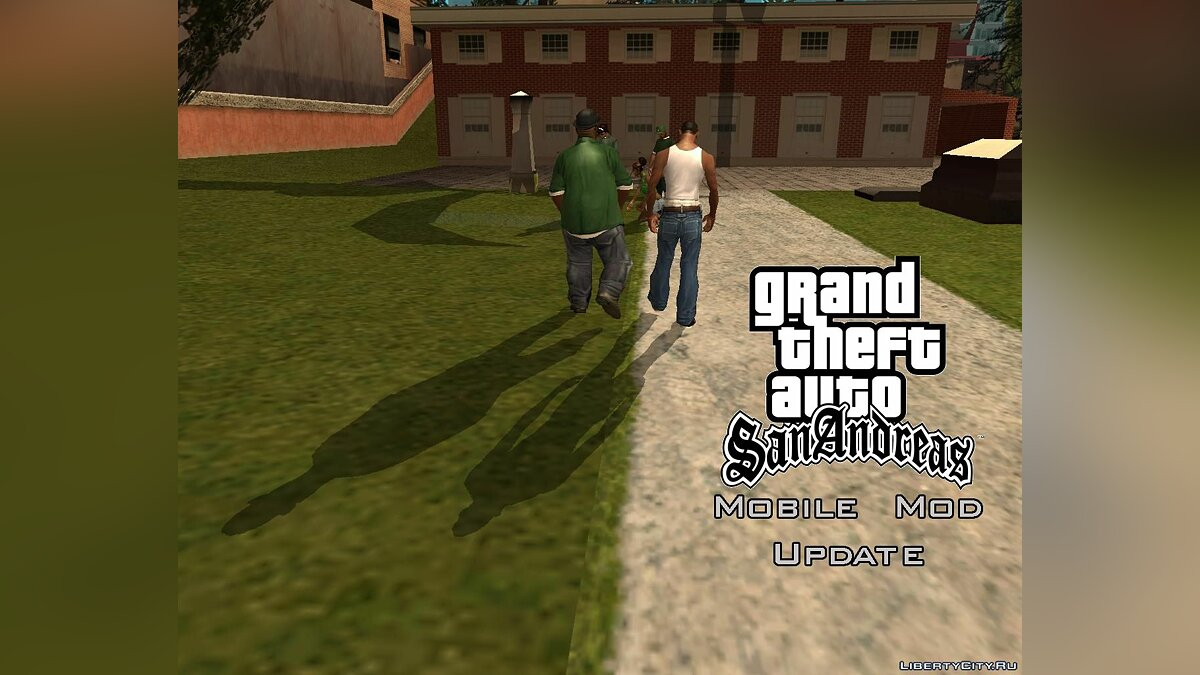 ��ольшой мод Mobile Modification v3.1 UPDATE для GTA San Andreas
